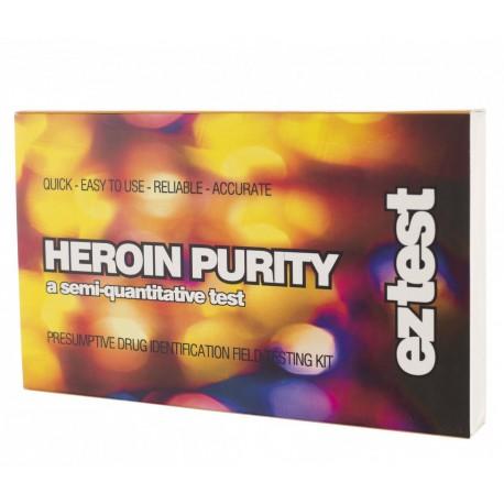 Test čistoty heroínu  5 ks balenie